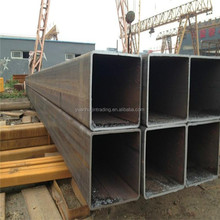 black rectangular/square steel pipe/hollow section for cunstruction