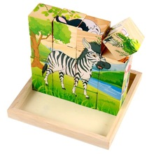 Custom Word Spelling Kids Education wooden jigsaw puzzle for children