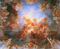 religious oil painting wallpaper murals for church (BH8176)
