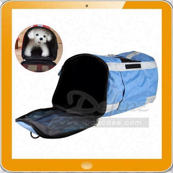 Factory Custom Airline Approved Pet Carriers / Fleece Bed For Dog & Cat