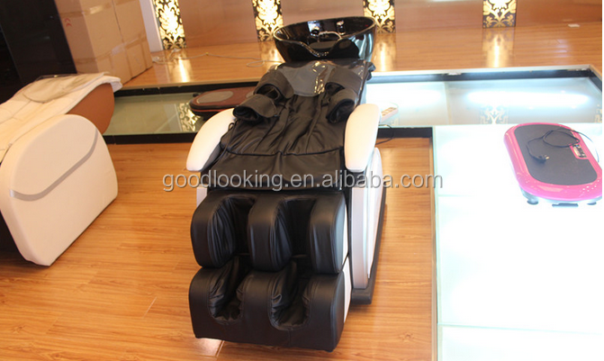 thai shampoo electric massage bed chair