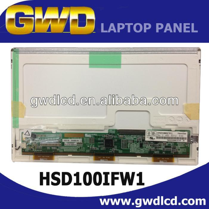 HSD100IFW1 10.1inch lcd panel 1024*600 for ASUS laptop