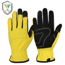 High Dexterity Breathable Microfiber Rigger Firm Grip Gloves Work