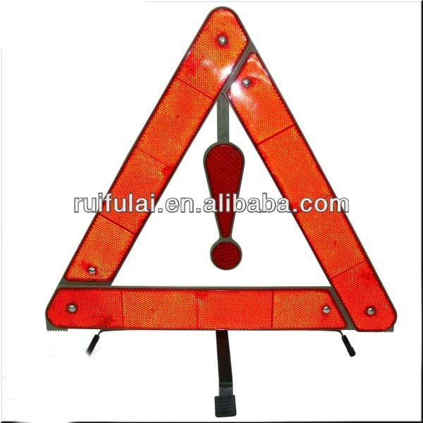 All Kinds of Truck Safety Triangles