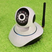 Night Vision Two-way Voice 720P HD Wifi IP Home Security Camera with SD Recording Card