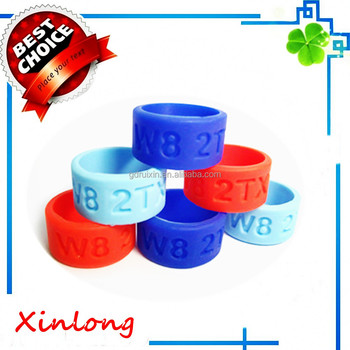 custom silicone Thumb bands /finger ring