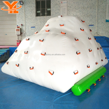 Custom Floating Water Rock Climbing Wall, Inflatable Iceberg Water Toy for Adults and Kids