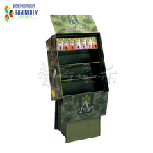 Recycled Promotional Paperboard POP counter Cardboard stand display corrugated display