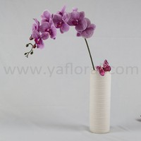 wholesale artificial flower artificial blue orchids flowers artificial phalaenopsis orchids with fresh touch for sale