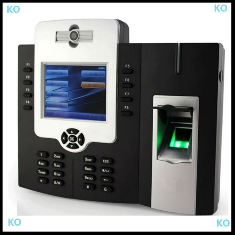 ICLOCK880 One Year Warranty Biometric Fingerprint Time Clock with Camera