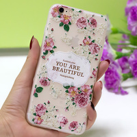Fashion OEM ODM custom soft printed TPU mobile phone case for iPhone 7 6s Plus