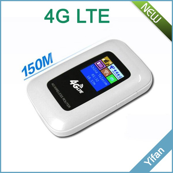 G4 colorful LED screen LTE 150M portable 4G LTE hotspot router