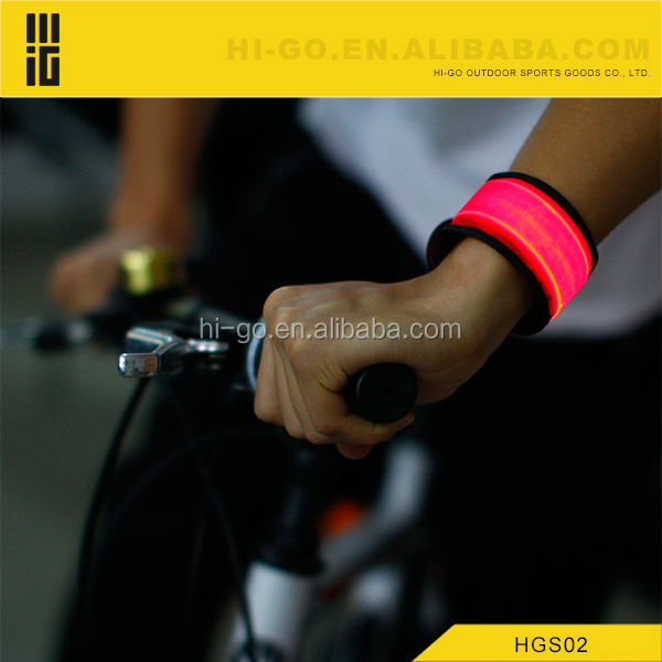 LED safety gadget for night sport glow band