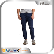 high quality cotton twill jogger pant light weight jogger for man