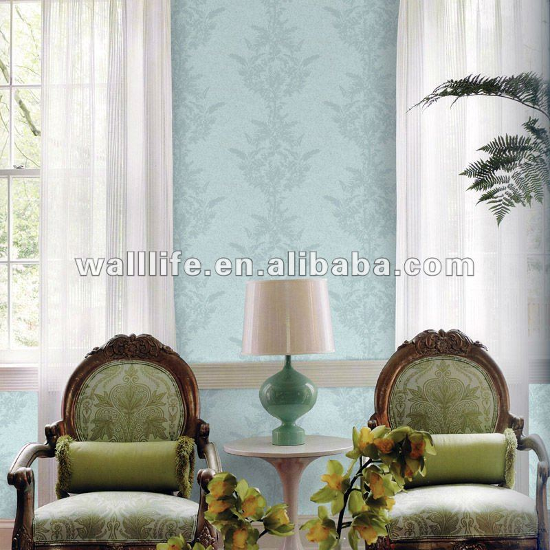 hot design PVC wallpaper bedroom decoration
