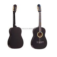 Promotional Cheap 38'' Black Classical Guitar