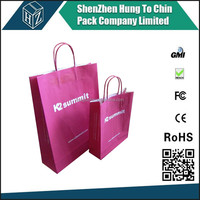 Packing Factory Cheap design Custom Printing paper bag for shopping