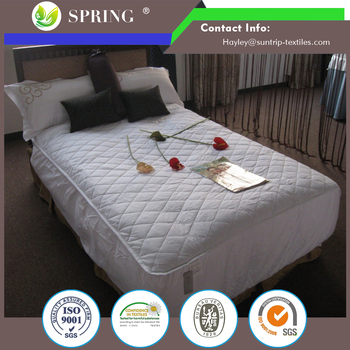 Cotton 38cm Deep King Bed Anti Allergy Waterproof Quilted Mattress Protector