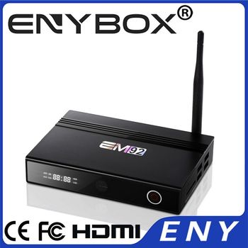 Amlogic S912 External Antenna Android TV Box Kodi TV Box EM92 Octa Core 4K Media Player