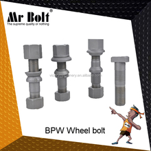 Phosphate 10.9 bolt and nut for BPW