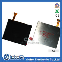 Mobile Phone spare parts For Nokia C3 LCD display screen