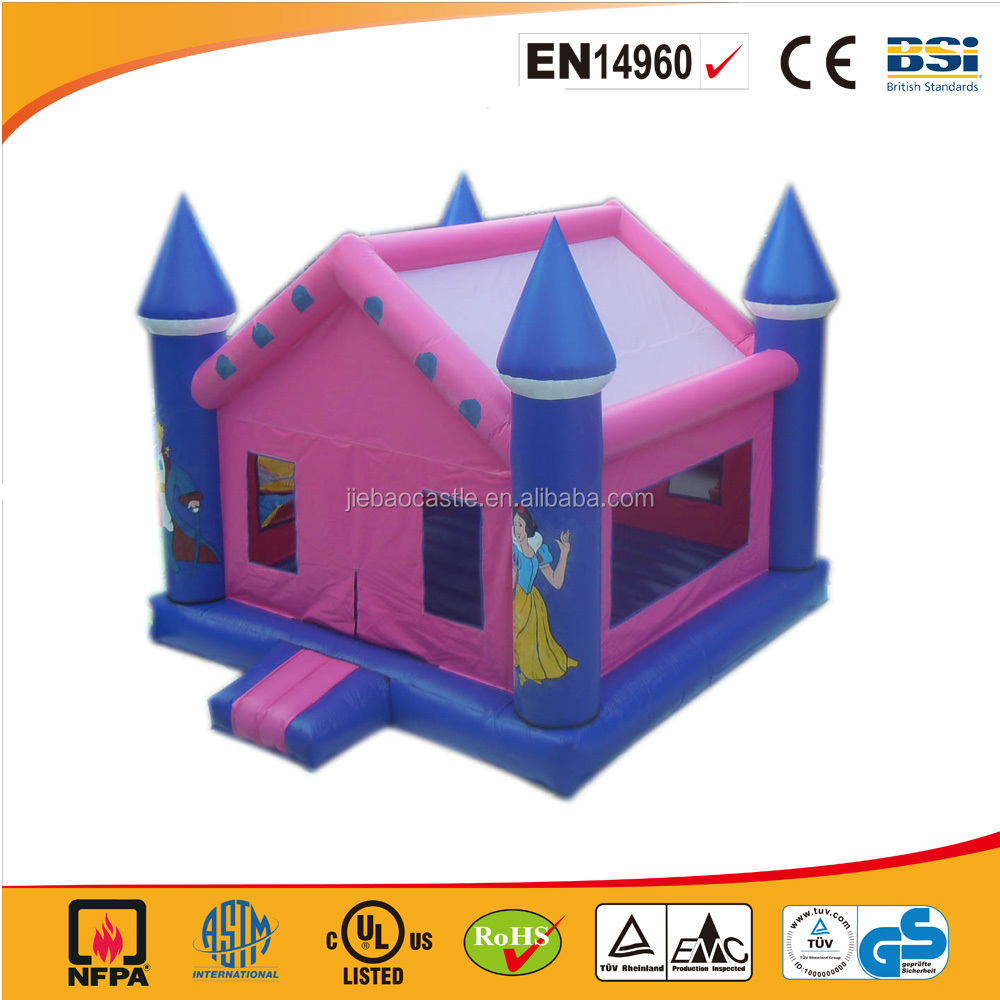 Promotional Cheap inflatable jumping castle suit for family use