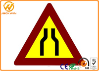 Yellow Color Warning Traffic Signs/ Triangle Road Sign/Traffic Safety Sign