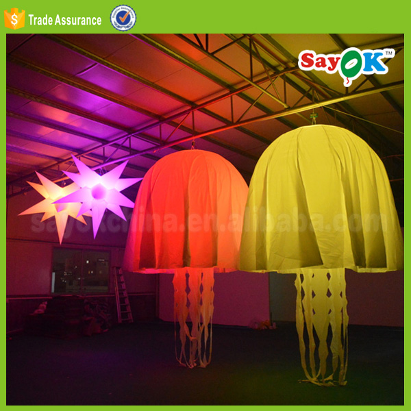 party decorations with inflatable jellyfish advertising balloon price
