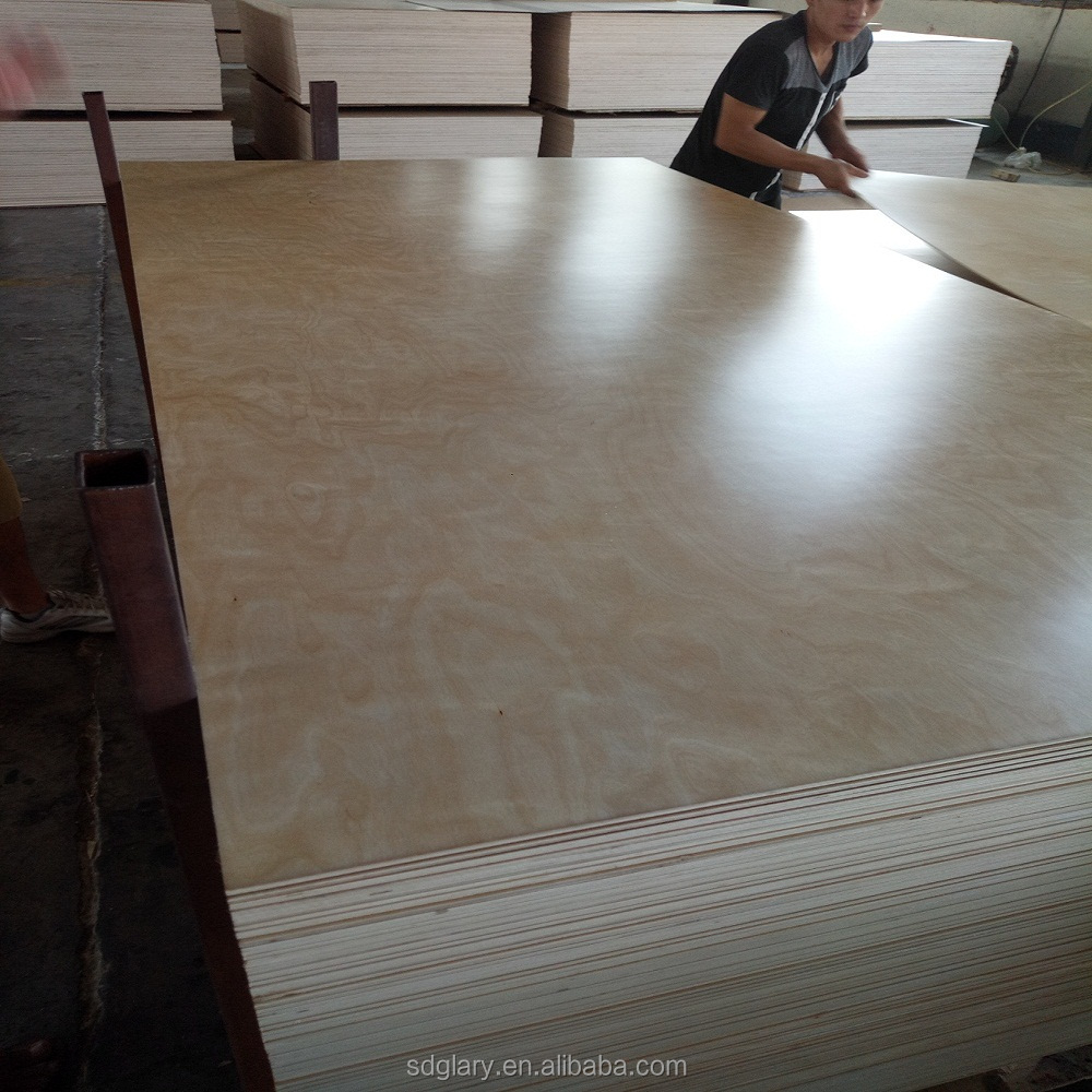 3/4 CARB P2 Glue UV 2 SIDES white birch plywood