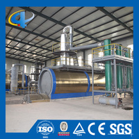 High safety waste plastic oil recycling plant for diesel grade oil