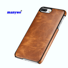 New brand manywe pu leather card holder phone case for iphone 5,6,7 ,7 plus