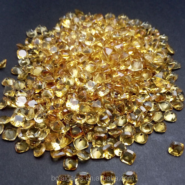 Bolai gemstone:Wholesale Naural Citrine loose gemstone for 925 sterling silver gemstone jewelry ,natural colorstone