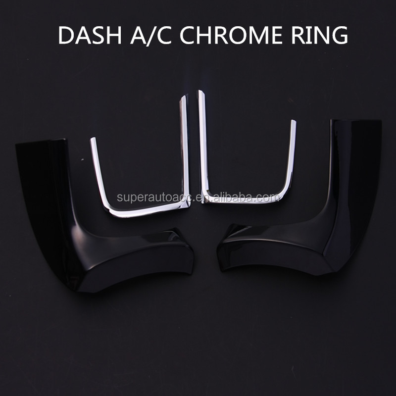 Self adhesive chrome car styling trim real 3 M bumper grill trims for estima acr50