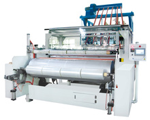 Double layer co-extrusion cast stretch film machine