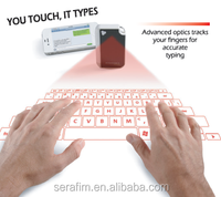 2015 New arrive virtual laser keyboard with mouse function for tablet and mobile phone