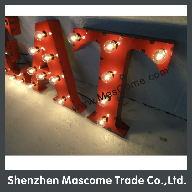 2015 hot sales Free standing the stainless steel lamp of style restoring ancient letters
