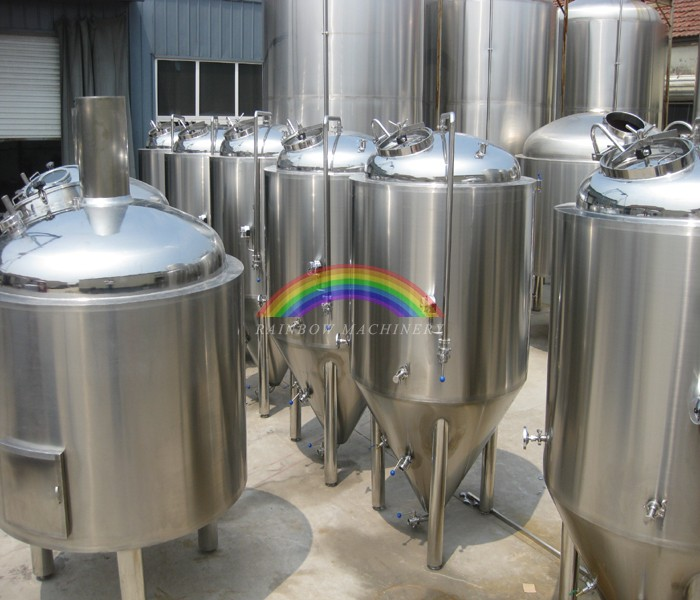 Microbrewery craft brewing equipment 5bbl brewing tank for Craft kettle brewing equipment