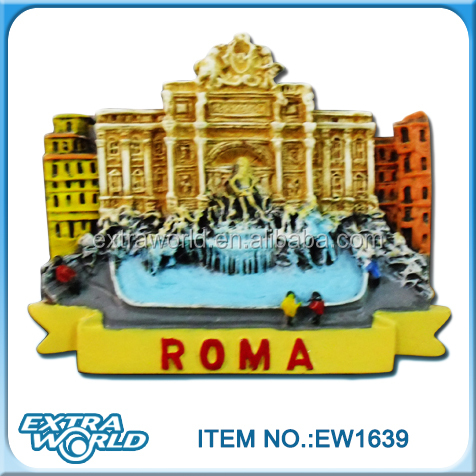 Roma fridge magnets souvenir