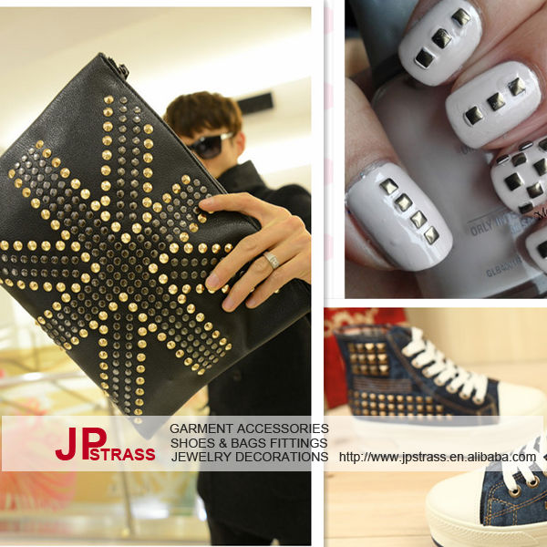 best price korea quality nailhead metal studs hotfix used clothing shoes