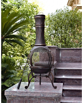 Best sell mini outdoor cast iron chimney fireplace