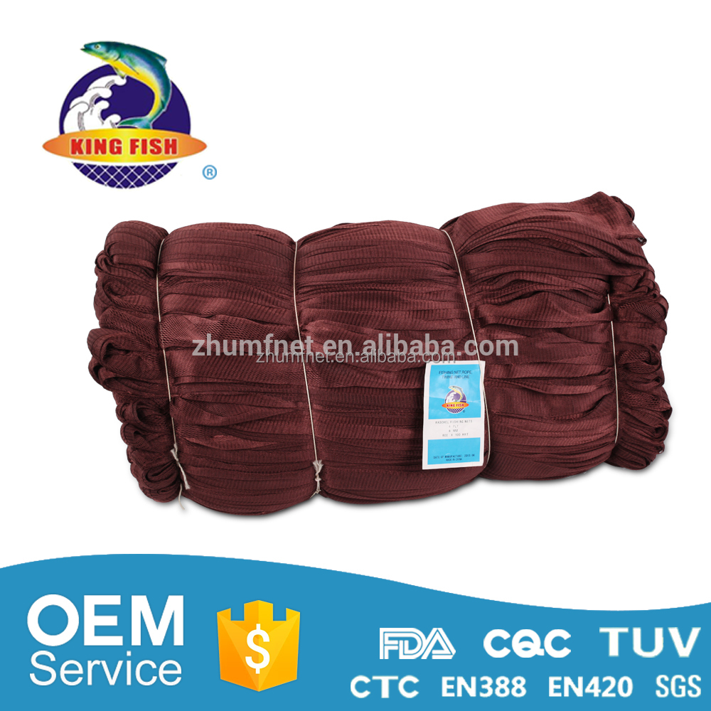 Durable size optional fishing gill nets