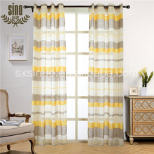 Window Decorative Horizontal Strip latest design curtain
