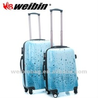 Fashionable Abs Luggage Trolley Bag Travel