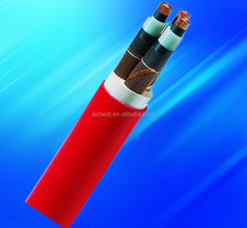 high quality copper conductor armoured 240mm2 11KV power cable
