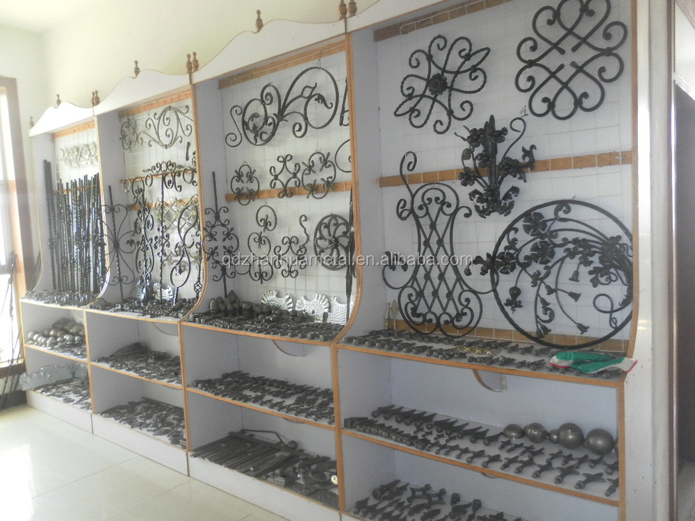 Painted Wrought Iron Balcony Stair Railing Parts Buy
