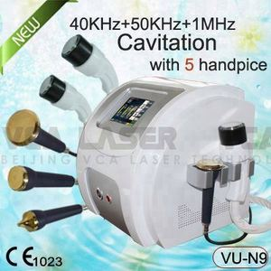 5 heads fast weight loss ultrasonic cavitation fat reducing machine