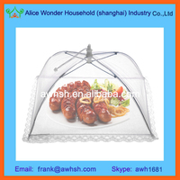 Pop Up Food Cover/Kitchen Mesh Food Cover /Plastic Food Covers