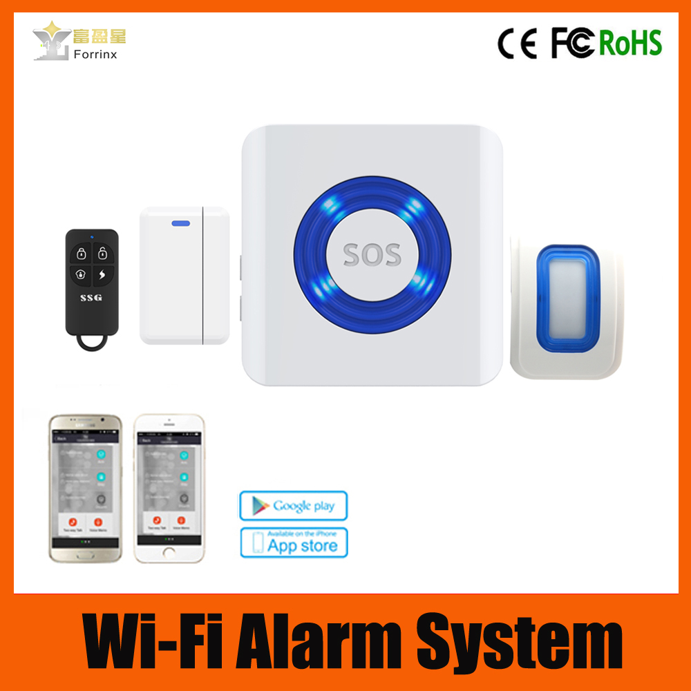 WIFI/PSTN/GSM wireless smart home alarm system, hot sell on Amazon