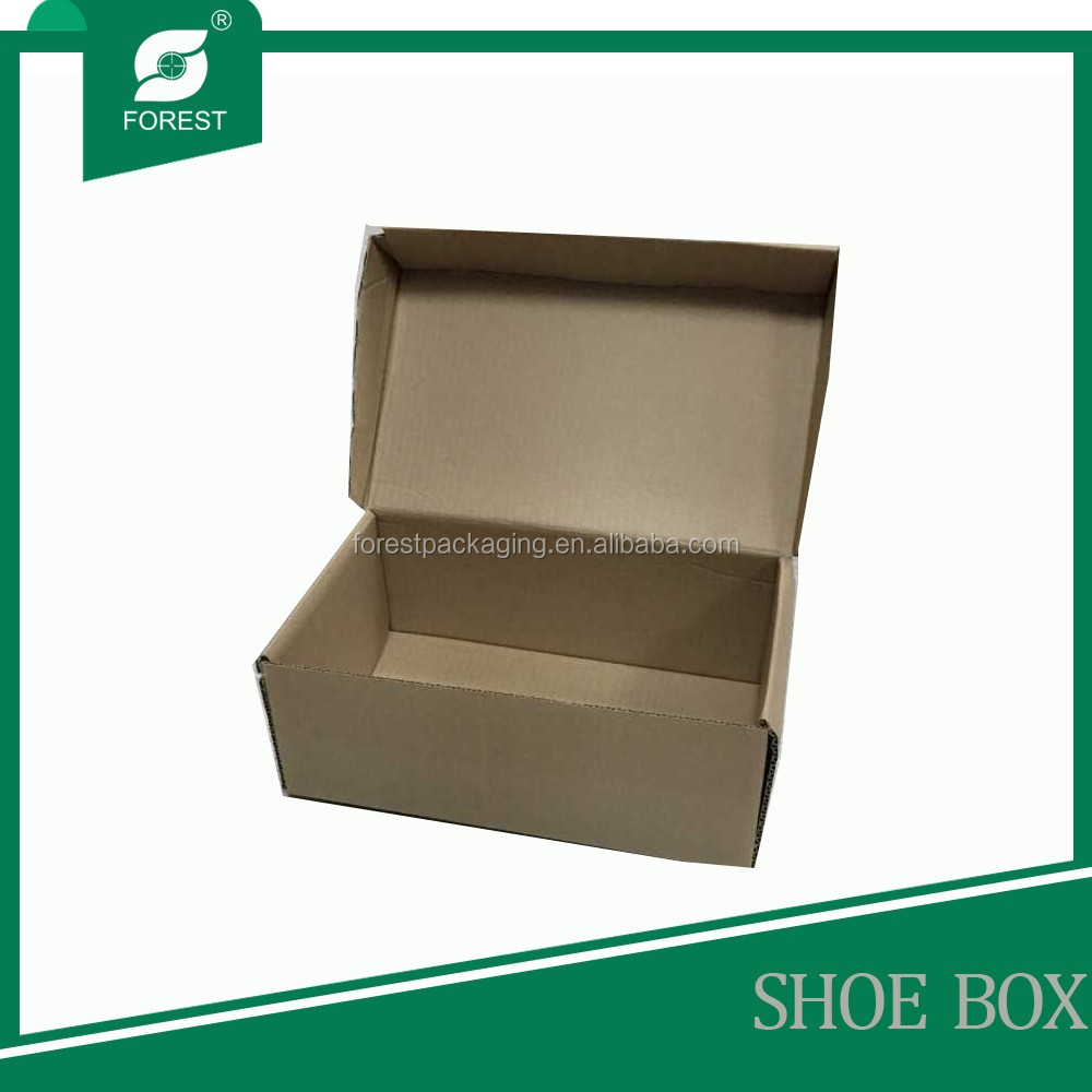 RECYCLED CARDBOARD KRAFT PAPER SHOES PACKING BOX