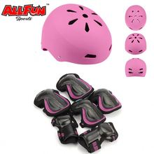 BMX Bike skate helmet Protect gear elbow knee wrist pads